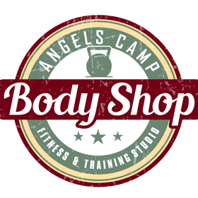 Body Shop Logo white